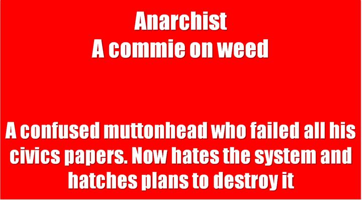 6 Anarchist