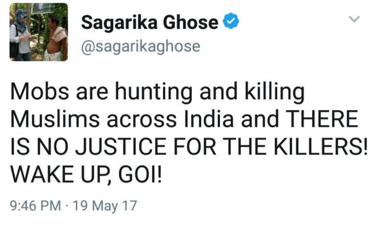 sagarika ghose liberals