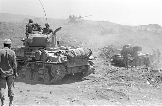 israel golan heights six day war
