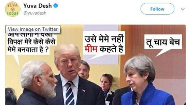 narendra modi congress tweet ट्वीट-मोदी-कांग्रेस