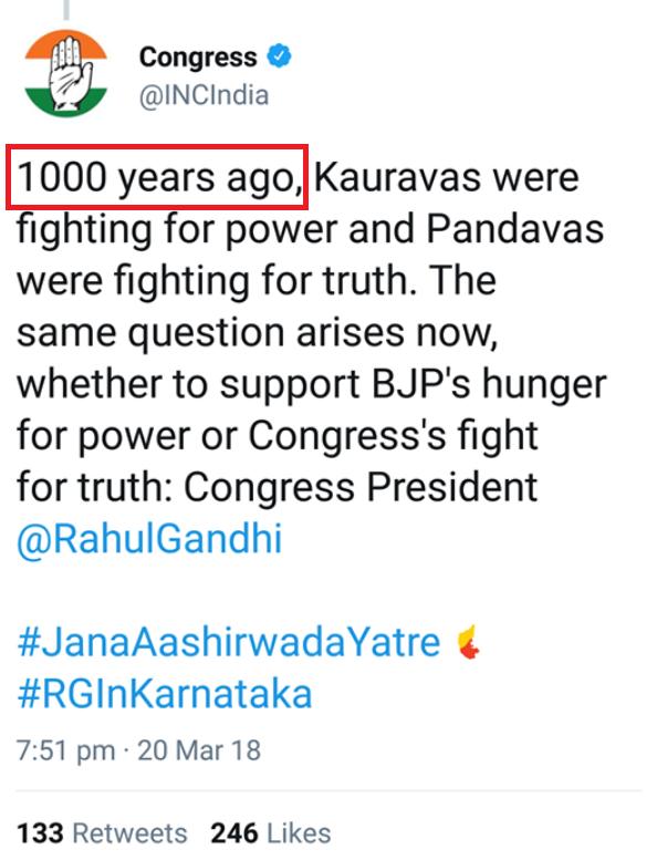 Congress Mahabharata