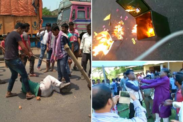 West Bengal Panchayat elections again marred by violence by TMC goons