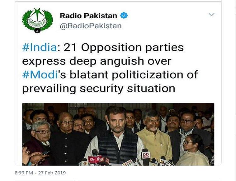 opposition parties, congress, pakistan, modi government