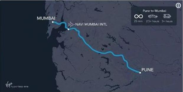 Hyperloop, Mumbai-Pune, Devendra Fadnavis