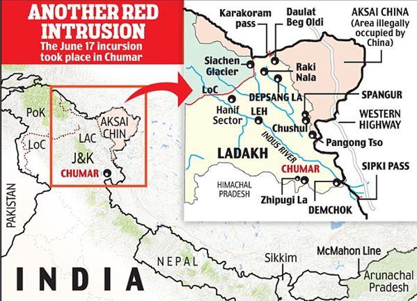 LAC, China, Ladakh, Depsang, Pangong Tso, Galwan valley