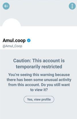 Amul, Twitter