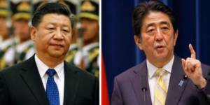 China, Jaoan, Xi Jinping, Shinzo Abe, Chinese companies