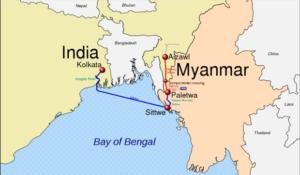 Harsh Shringla, Myannmar, Bangladesh, India