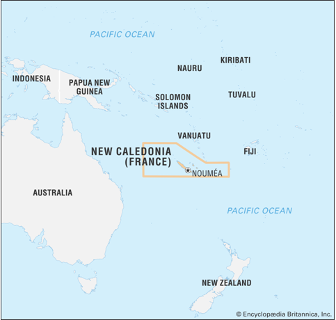 New Caledonia, France, French, China