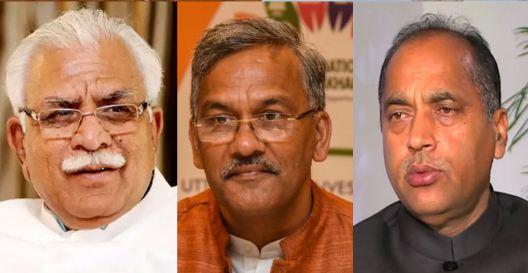 BJP, Manohar Lal KhattarJairam Thakur, Raghubar Das Syndrome, Trivendra Singh Rawat