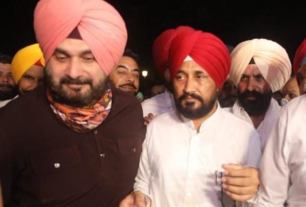 Channi, Sidhu, Congress, Punjab, Amarinder
